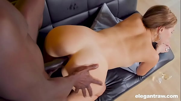 Big black cock in tight white ass at AdultPrime