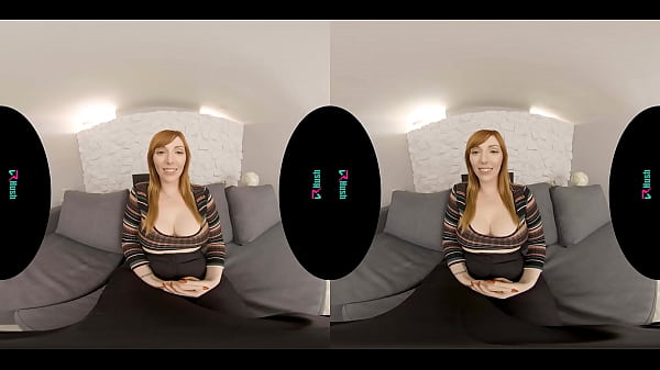 VRHUSH VR casting couch with busty redhead Lauren Phillips