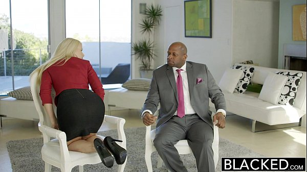 BLACKED Business Blonde Anikka Albrite Ass Fuck...