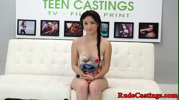 Innocent teen hardfucked at sexaudition