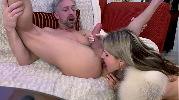 Fit Teen Gina Gerson Rimming Ass and Sucking A Big Dick In POV Homemade Video