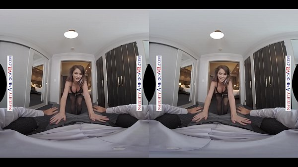 Naughty America presents Emily Addison VR - Beautiful face and juicy ass thumbnail