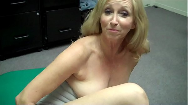 Grandma fingers herself then FREAKS OUT at Porn...