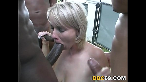 Petra Gangbanged by Black Cocks