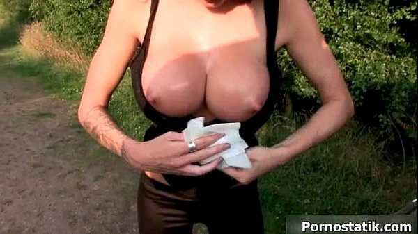British sluts love dogging in the woods