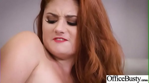 Lennox Luxe) Horny Girl With Big Tits Get Sex In Office clip-14