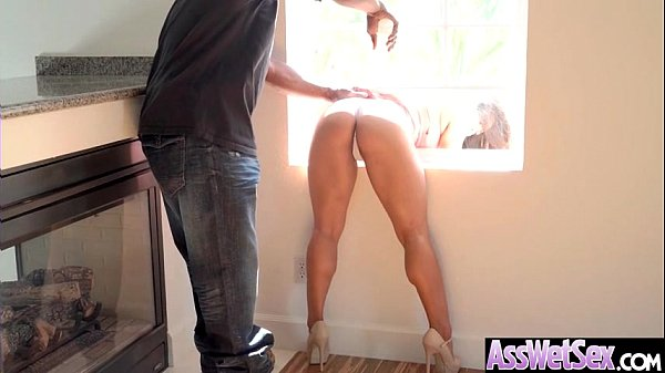 (Mia Li) Huge Butt Oiled Girl Enjoy Anal Hardco...