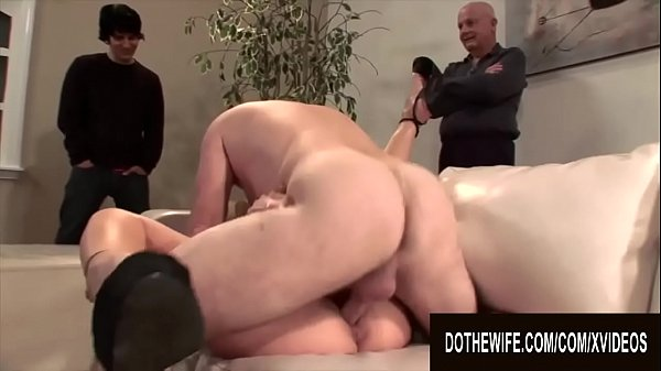 Do The Wife - Plowing Blonde Wives While Their Cuckolds Watch Compilation 1