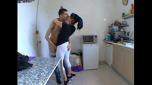 She cheats while her husband knocks on the door