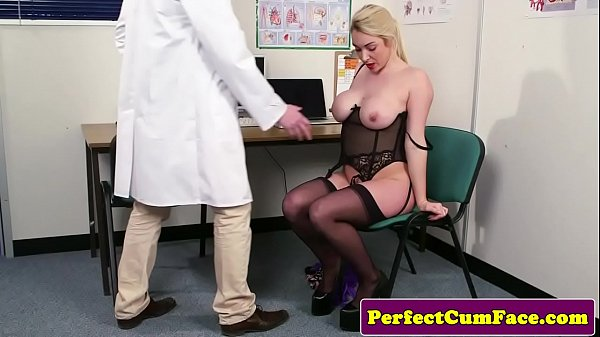 Busty brit patient cocksucking doctors cock Thumb