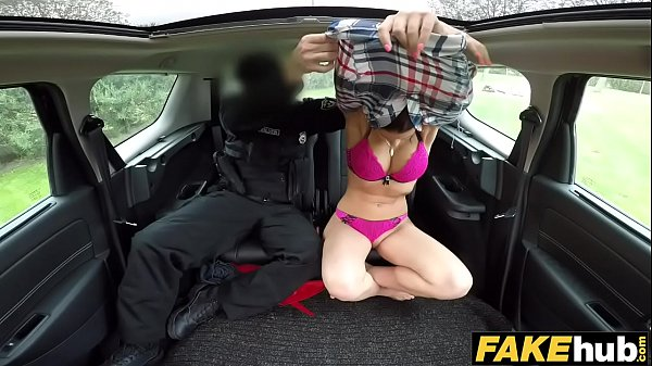 Fake Cop Cop cums twice for sexy redhead