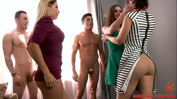 Two Milf's Fuck Their Sons and Daughter Together