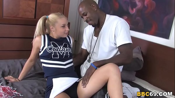 Petite Blonde Alyssa Wants To Try Big Black Cock