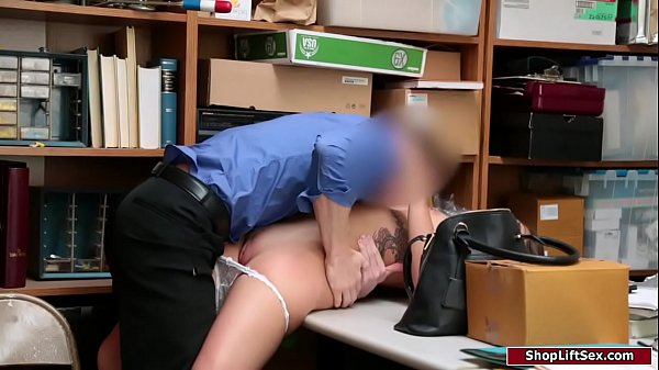 Teen shoplifter banged by horny officer