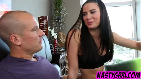 Kymberlee Anne gets her pussy fillled with big dick and warm cum