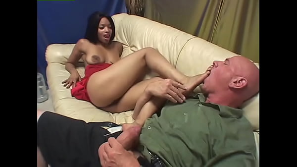 Black Foot Patrol #2 - The black sluts squad is out to find big dicks to rub against their beautiful feet