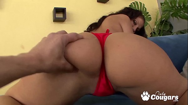 Madison Rose Smothers A Face With Her Huge Chun...