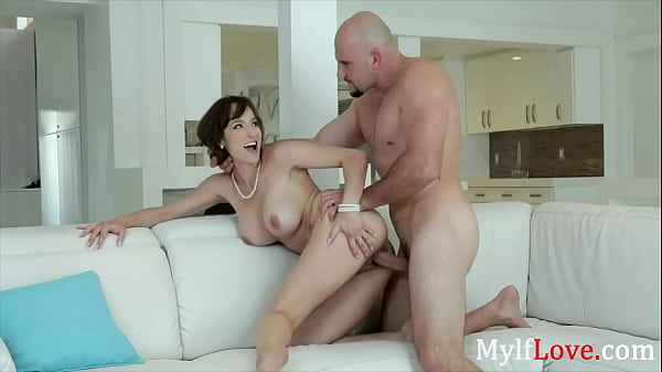 Busty Brunette MILF Cheats On Her Old Husband- ...