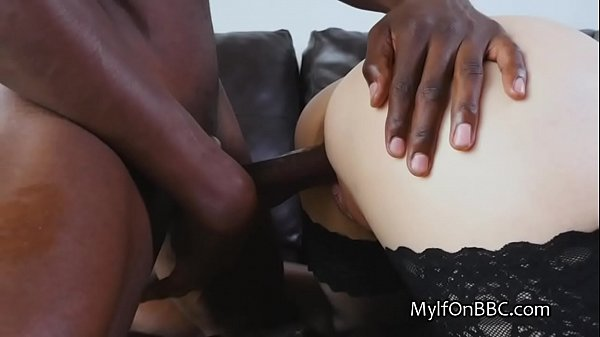 Black stud pounding mature wife with BBC