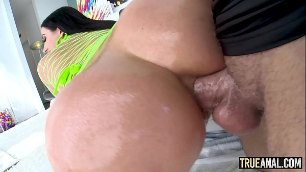 TRUE ANAL Angela White has her booty fucked yet again