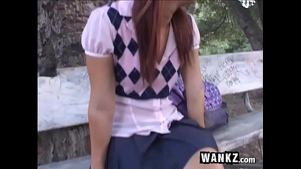 Slutty Redhead Schoolgirl Spreads For Her Teacher!
