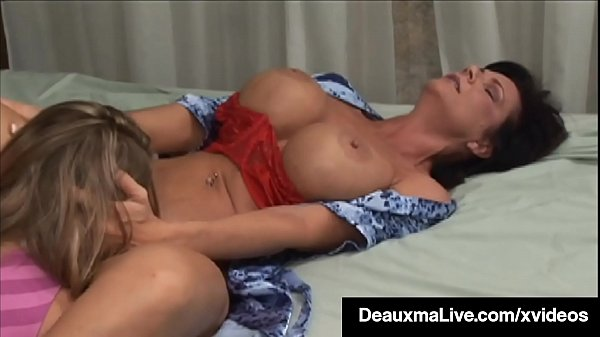 Mature Muff Diver Deauxma Pleases y. Girl's Tig...