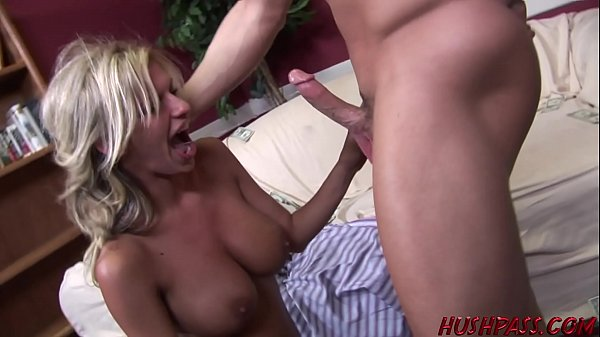 Busty Housewife Double Fucked For Cash By 2 Guys