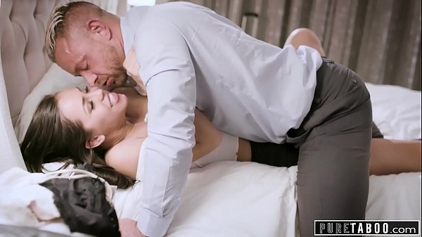 PURE TABOO Teen r. Fucks Step-Mom's New Boyfrie...