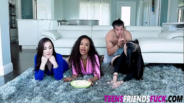 Demi Sutra Megan Winters and Bambi Black Stepbrother Ruin Their Night