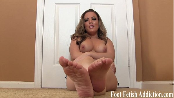 Stroke your cock to my pedicured toes