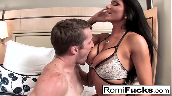 Romi Rain gets a good fuck from a big cock