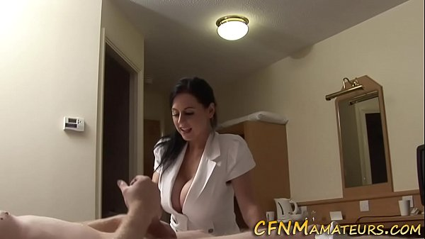 Cfnm amateur gets railed