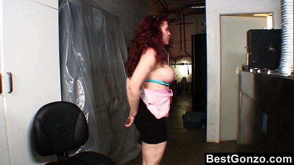 Caught Exposing Her Boobs in the Back Store  thumbnail