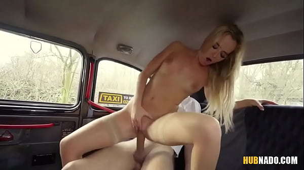Victoria Pure gets naughty on the back seat of that car