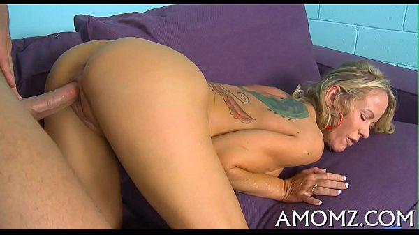 Sex addicted mom in a sexy action