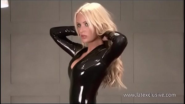 Blonde Alex in latex fetish wear and softcore sologirl in kinky outfits and tigh