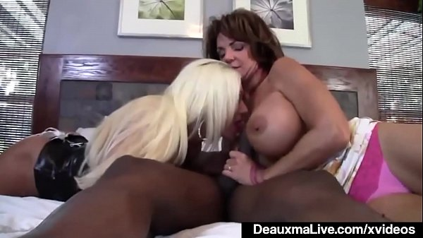 Mature Mommy Deauxma & Ashlee Chambers Share Bi...
