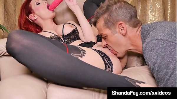 Horny Hot Housewife Shanda Fay Gets Pussy Serviced By Hubby