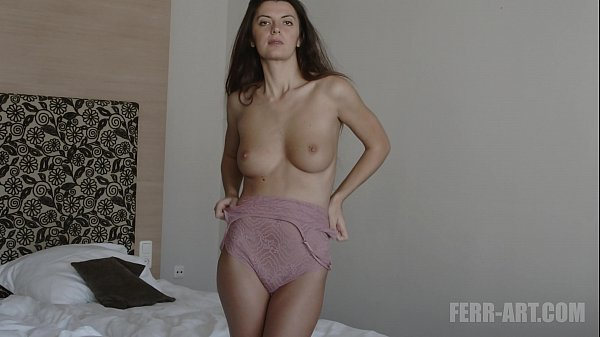 Mikey Lingerie Try On Haul with big pussy lips in 4k