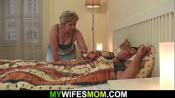 Horny m. inlaw wakes up him for cheating sex
