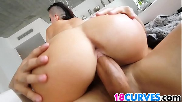 Big Surprise For Big Ass Alby Rydes
