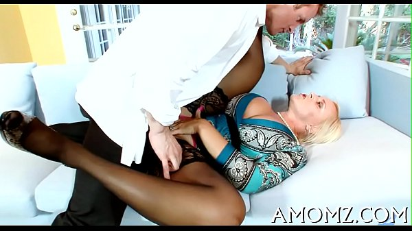 Hot mom is fingered and drilled