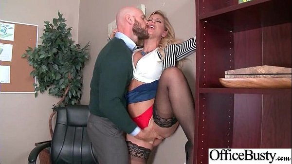 Hard Sex Action With Slut Big Tits Office Girl (Cherie Deville) video-30 Thumb