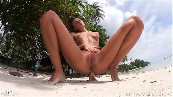 Fuck on the Beach with Melena Maria Rya