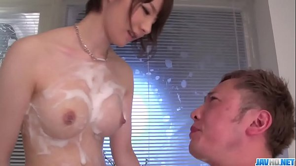 Soapy hardcore Japan xxx with sexy Airi Miyazak...