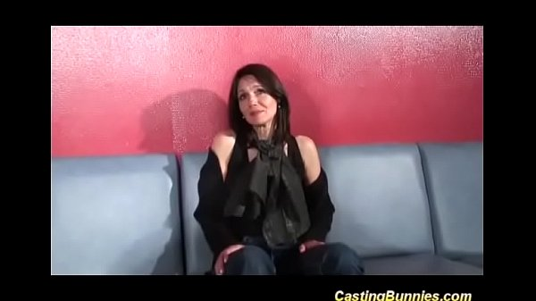 french Milf casting for DP