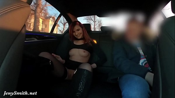 Sexy rich woman shows everything to the stranger. Elite Car Driver by Jeny Smith