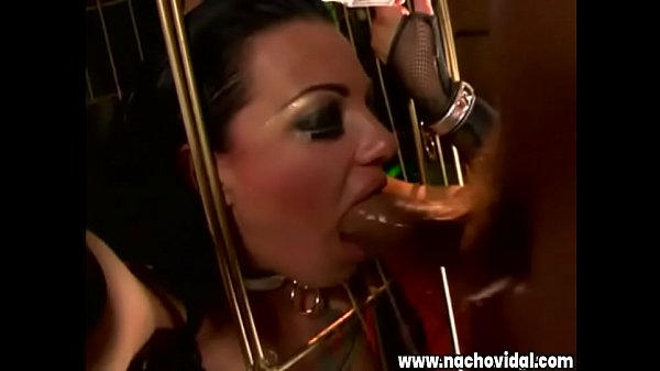 Spanish Director Nacho Vidal in Back 2 Evil - Scene 5.  He Fucks A Hungry Slut Gripping Her Hot Pussy On His Big Dick Thumb