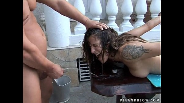Hog tied whore throat fucked