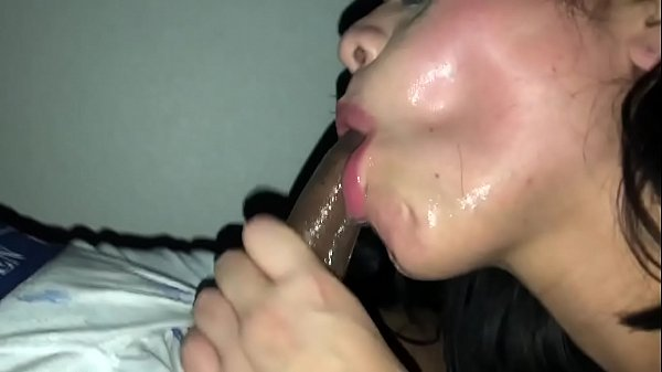 Nasty cum slut rims asshole and swallows bbc